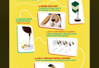 5 Ways to Make Cheap Wine Look Money!