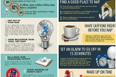 Infographics regarding sleep and napping