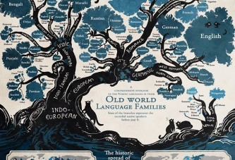 Old world language families